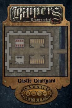 24x30_Rippers_Castle_Courtyard