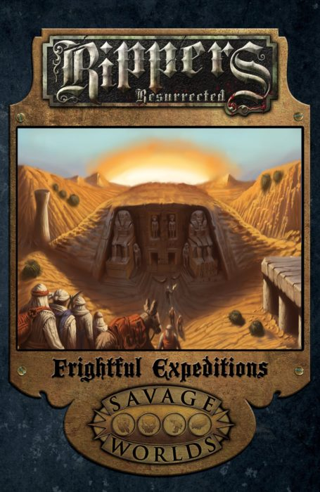 Frightful expeditions cover mockup