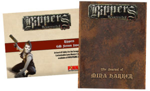 Rippers GM Screen Inserts and Deluxe Journals