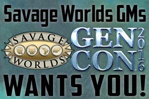 Savage Gen Con 2016