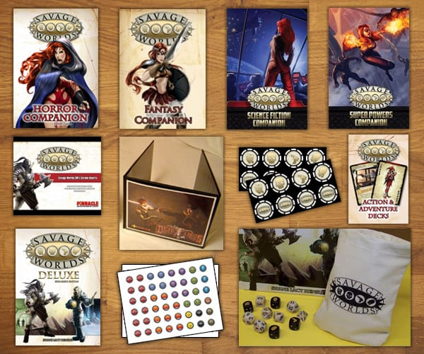 Savage worlds | product categories | pinnacle entertainment group.