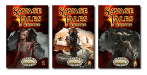 Savage Tales of Horror, Volumes 1-3