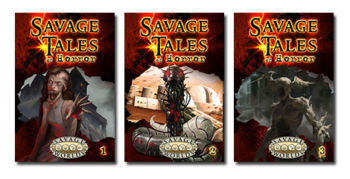 Savage Tales of Horror, Volumes 1-3