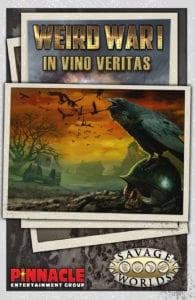 In Vino Veritas Plot Point Campaign for Weird War I