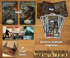 Weird War I Virtual Bundle