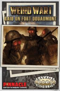Raid on Fort Douaumont Adventure for Weird War I