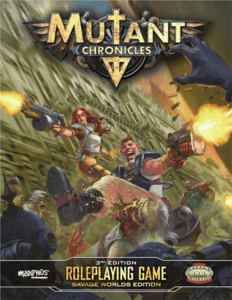 Mutant Chronicles from Modiphius Entertainment