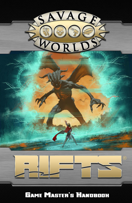 Savage Rifts: Game Masters Handbook: Hardcover -  Pinnacle Entertainment Group