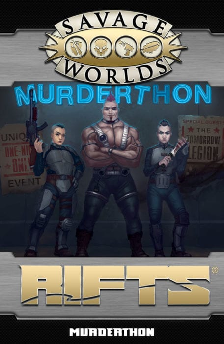 Murderthon, An Adventure for Savage Rifts