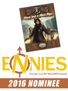 Stone and a Hard Place Nominated for 2016 ENnies