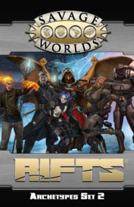 Rifts Archetypes Set 2