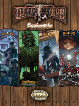 Deadlands Bookmarks
