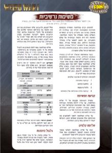 Weird War I Narrative Missions in Hebrew