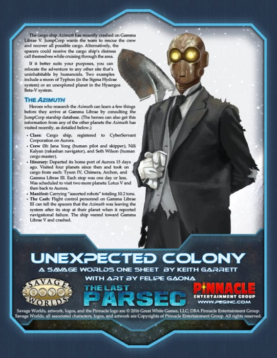 TLP_Unexpected_Colony