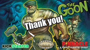 The Goon for Savage Worlds Kickstarter Project