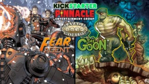 The Goon and Fear Agent Kickstarters