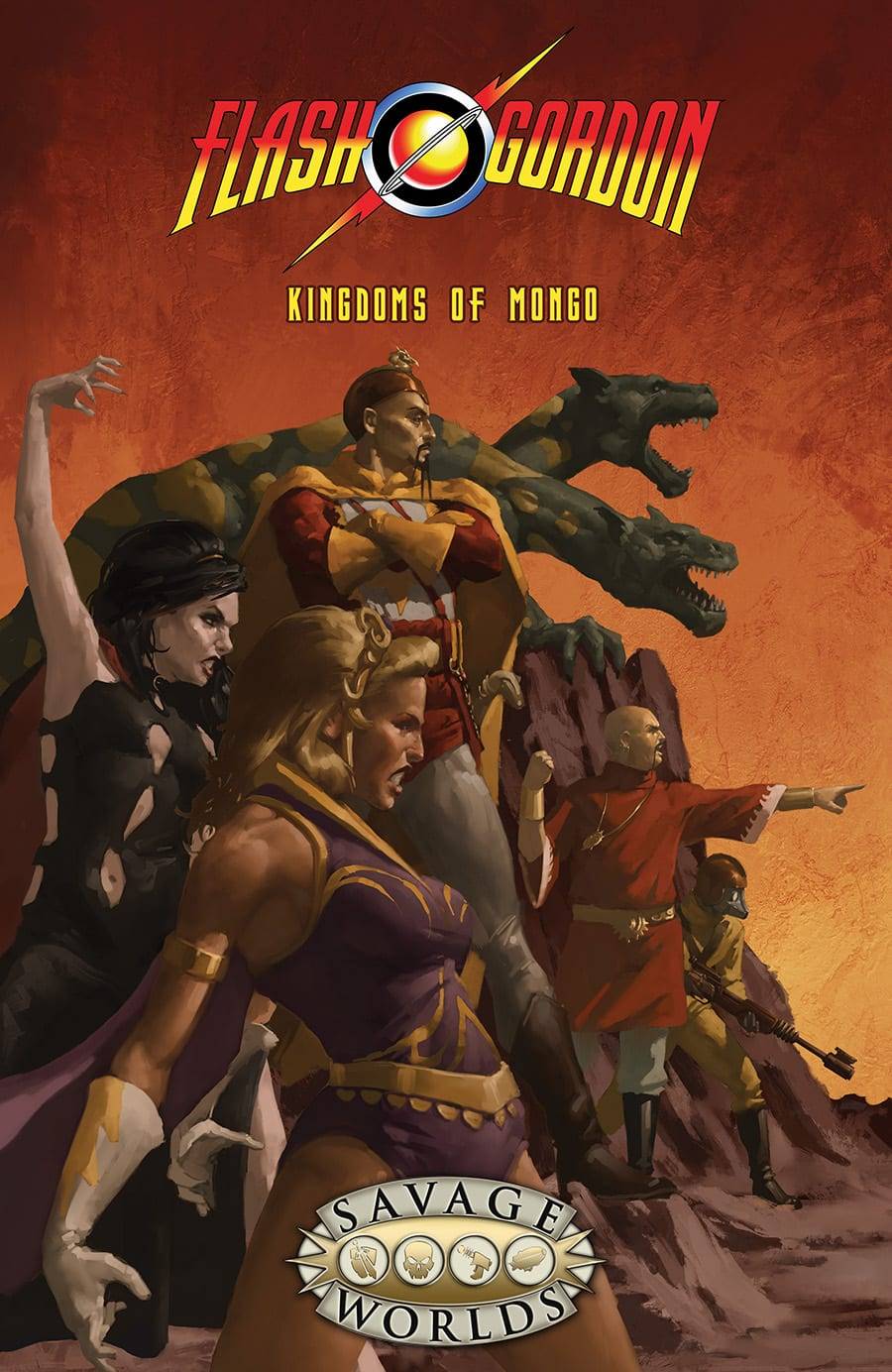 Flash Gordon RPG Kingdoms of Mongo Limited Edition Hardcover -  Studio 2 Publishing