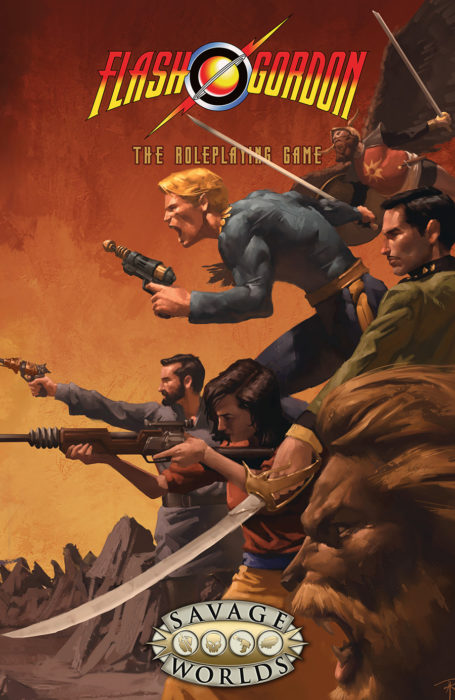 Flash Gordon RPG Softcover: Savage Wolrds -  Studio 2 Publishing