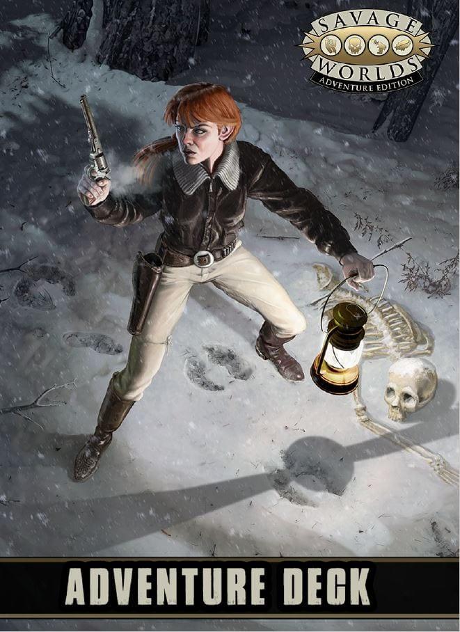 Savage Worlds Adventure Deck RPG -  Pinnacle Entertainment