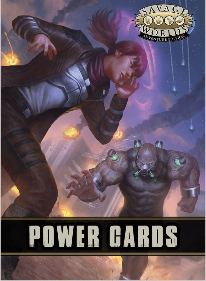 Savage Worlds Powers Deck RPG (T.O.S.) -  Pinnacle Entertainment