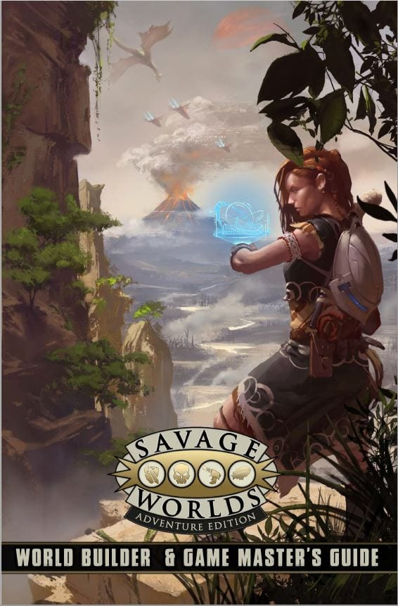 Savage Worlds World Builder and Game Masters Guide RPG (T.O.S.) -  Pinnacle Entertainment