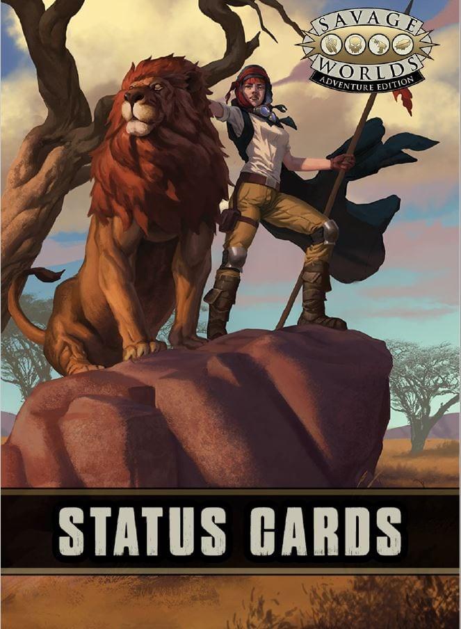Savage Worlds Status Deck RPG -  Pinnacle Entertainment