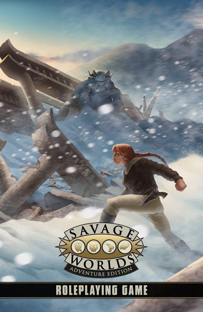 Savage Worlds Adventure Edition RPG -  Pinnacle Entertainment